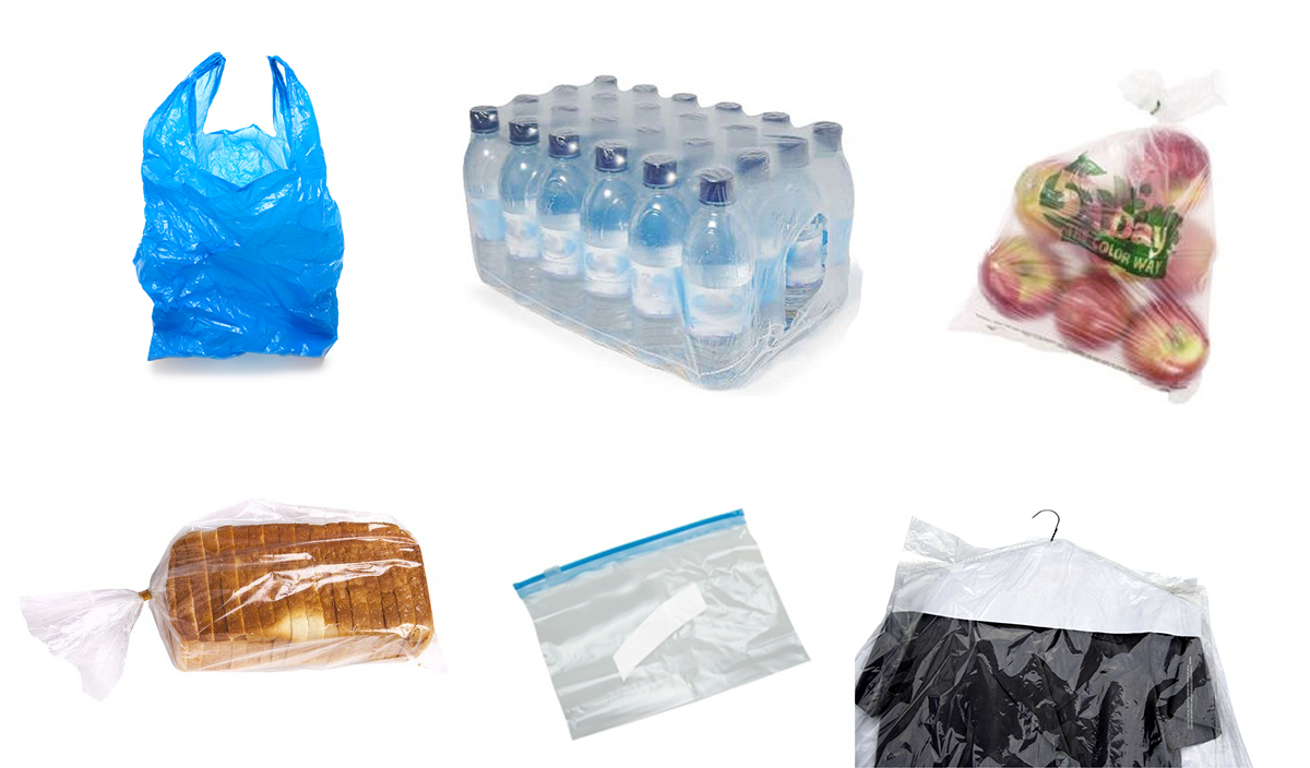 Image result for plastic grocery bags and film